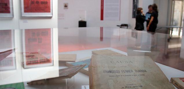 Exposició sobre Ferrer i Guàrdia, a Alella.
