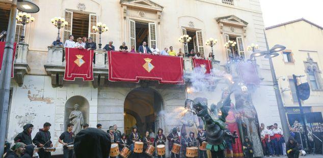 Imatge d'arxiu de la Crida a la Festa Major. Foto: R.Gallofré