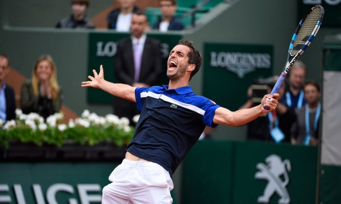 Albert Ramos en guanyar Raonic a Roland Garros 2016