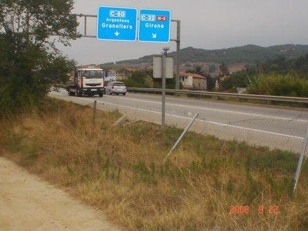 L'autopista C-60, en una imatge d'arxiu