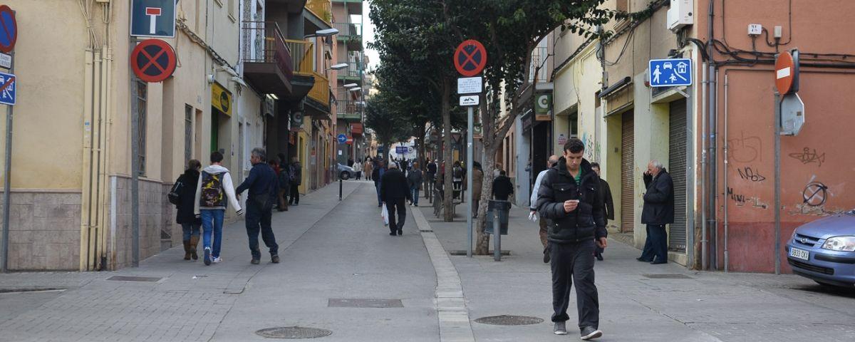 Carrers del barri de Cerdanyola. Foto: R. G.