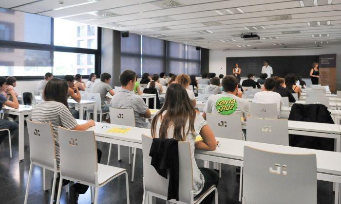 Alumnes al Tecnocampus. Foto  G. Romero