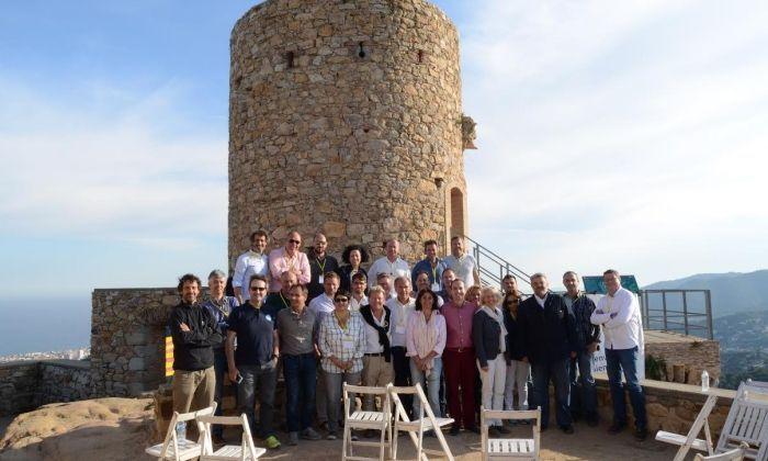Una imatge de la trobada.
