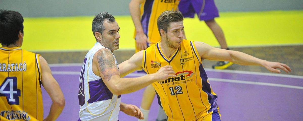 Bàsquet UE Mataró, imatge d'ariux. Fotos: Ivan Ruiz