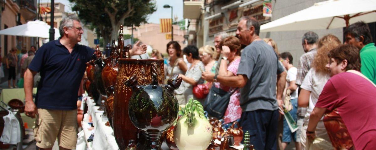 Fira internacional de ceràmica Argillà d'Argentona