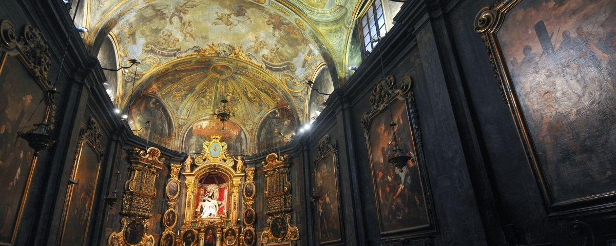 Capella dels Dolors, a Santa Maria. Foto: R. Gallofré