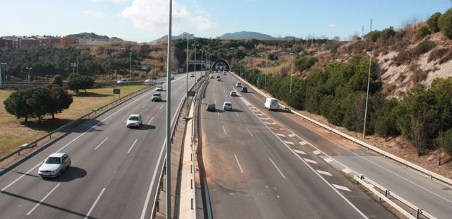 L'autopista C-32. Foto: Arxiu