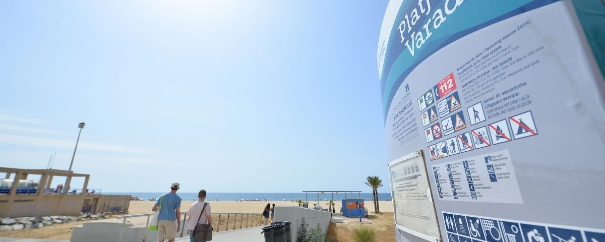 La platja de Mataró