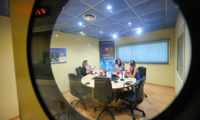 L'emissora Mataró Ràdio. Foto. R. Gallofré