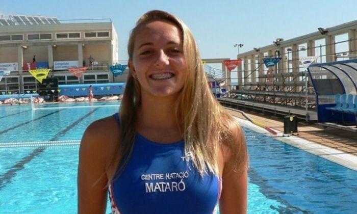 Alba Bonamusa, jugadora de la Sirena Mataró.