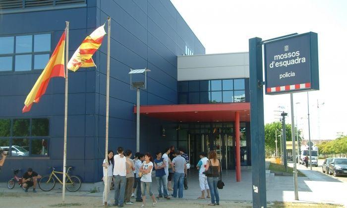 La comissaria dels Mossos d'Esquadra a Mataró