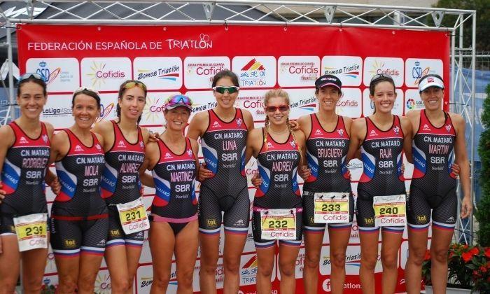 L'equip femení.