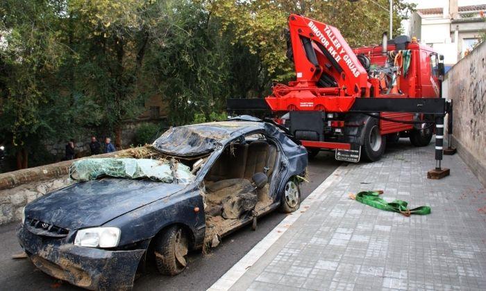 El cotxe de la víctima. Foto: ACN