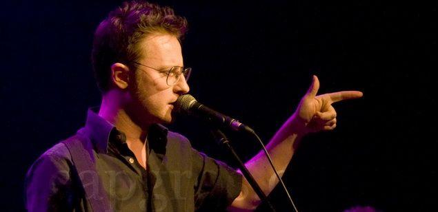 El cantant del grup Mishima, David Carabén