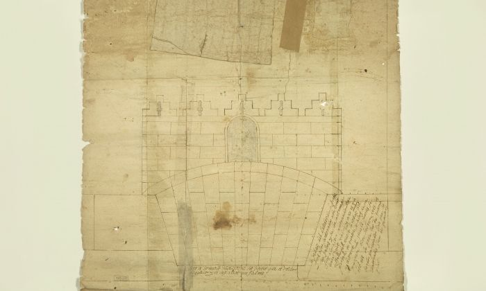 Un dels plànols del segle XVI