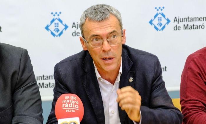 El líder d'ERC, Francesc Teixidó. Foto: R. Gallofré