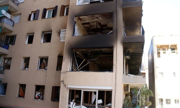 El pis afectat. Foto: ACN