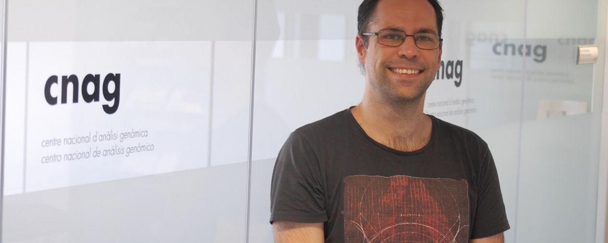 Oscar Lao, al Centre de Regulació Genòmica de Barcelona