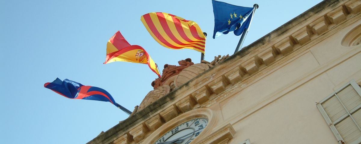 Façana de l'Ajuntament de Mataró.