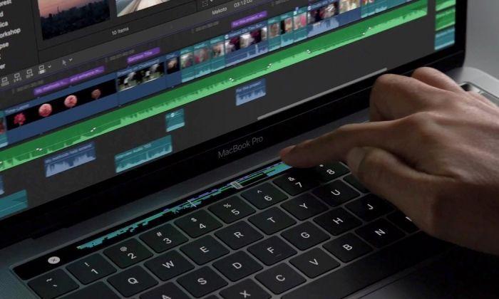 touch bar, una novetat del MacBook Pro.