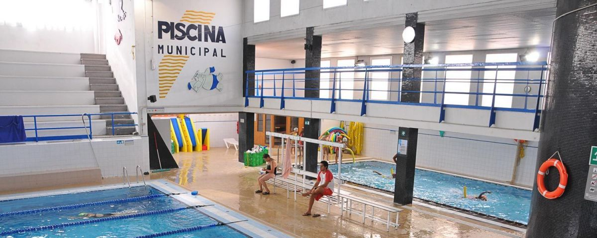 Interior de la Piscina Municipal