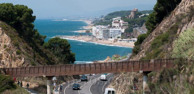 La costa del Maresme
