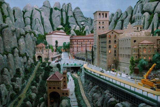 Diorames i pessebre de Montserrat