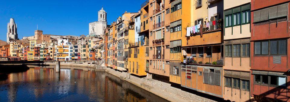 El riu Onyar a Girona. Foto: Girona.cat