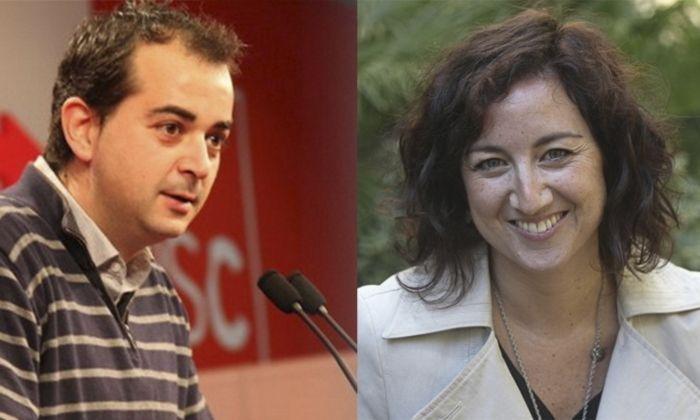 Xesco Gomar i Alicia Romero