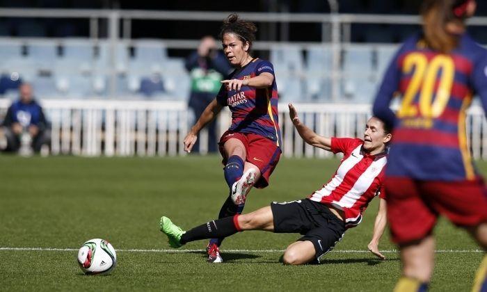 Torrejón en una acció. Foto: FC Barcelona.
