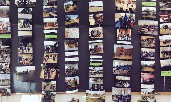 Exposició fotogràfica del viatge al Senegal. La idea, conscienciar als joves.