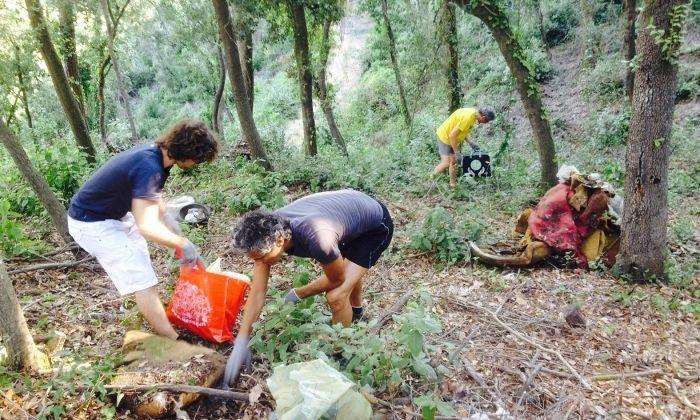 Voluntaris del projecte. Foto: Fundació Lotus Blau