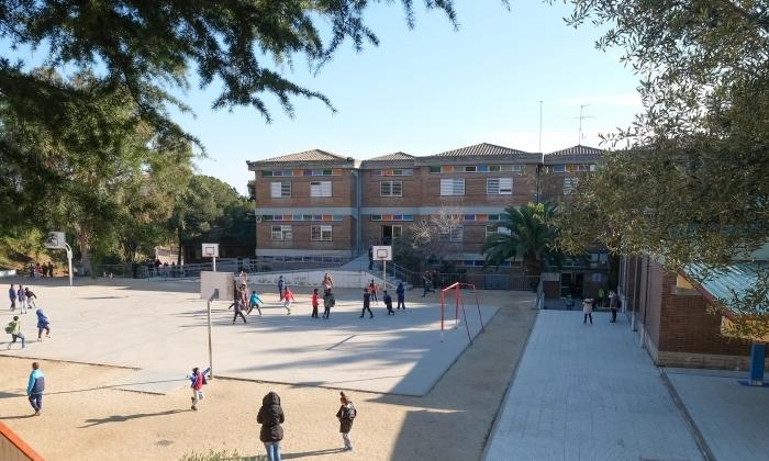 L'escola Àngela Bransuela. Foto: R. G.