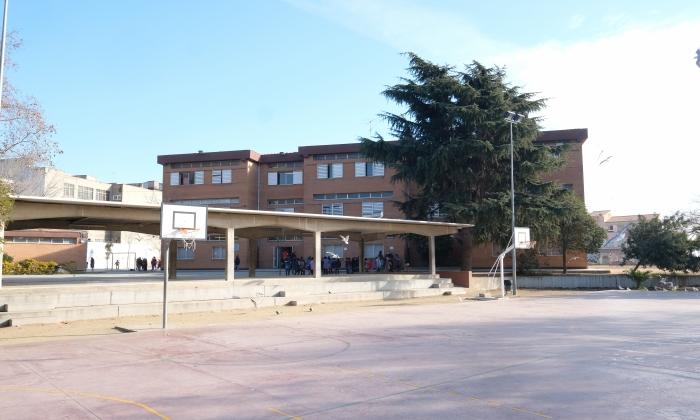 L'escola Tomàs Viñas.