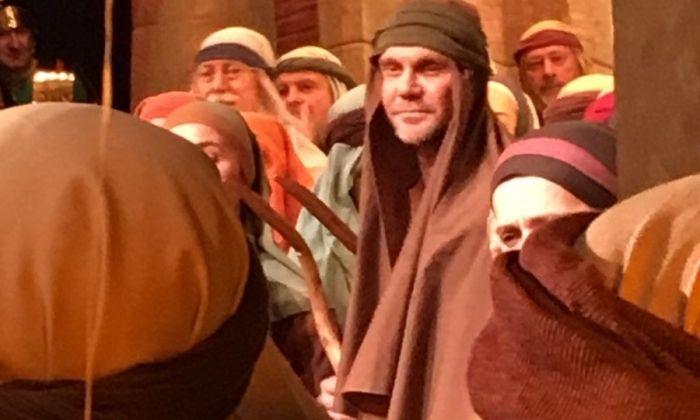 Vidal, en una escena de l'obra. Foto: Sala Cabanyes