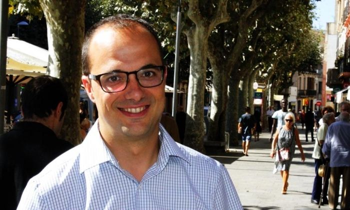 El president local del PDeCAT, Alfons Canela