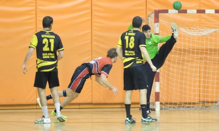 Joventut Handbol Mataró JHC - La Salle Bonanova. Foto: R.Gallofré