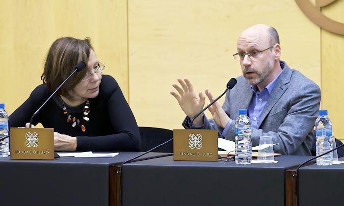 Montserrat Tura i Jaume López. Foto: Joan Brucés