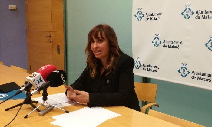 La regidora de Via Pública, Núria Moreno