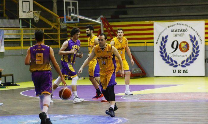 Un partit d'aquesta temporada del Mataró Feimat.