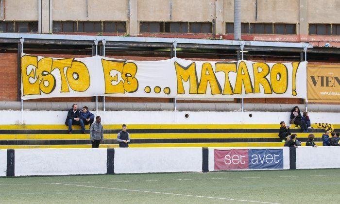 El CE Mataró torna a ser de 1a Catalana. Foto: arxiu