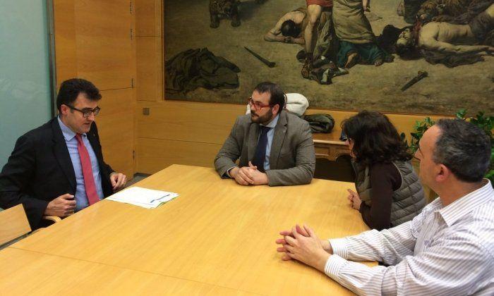 Trobada del secretari d'Hisenda del govern català amb representants de l'Ajuntament. Foto: Ajuntament de Mataró