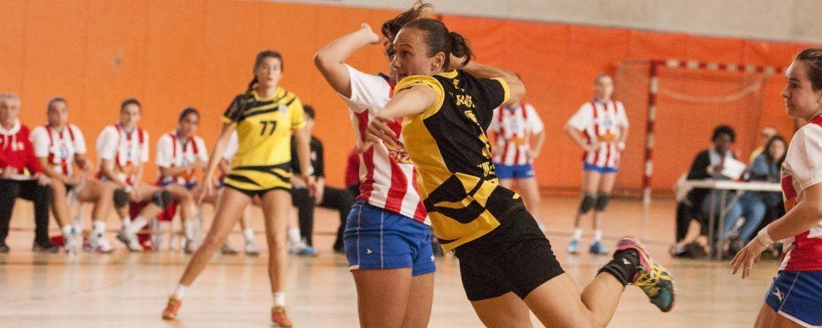 Isabel Latorre va fer dos gols. Foto: Carme Balcells.