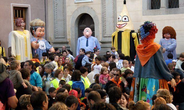 Gegants d'escoles de Mataró