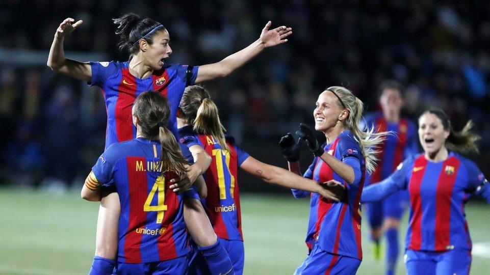 Imatge del gol. Foto: Miguel Ruiz - FCB