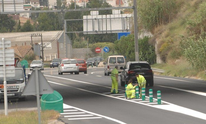 L'autopista C-60, on es va produir l'accident
