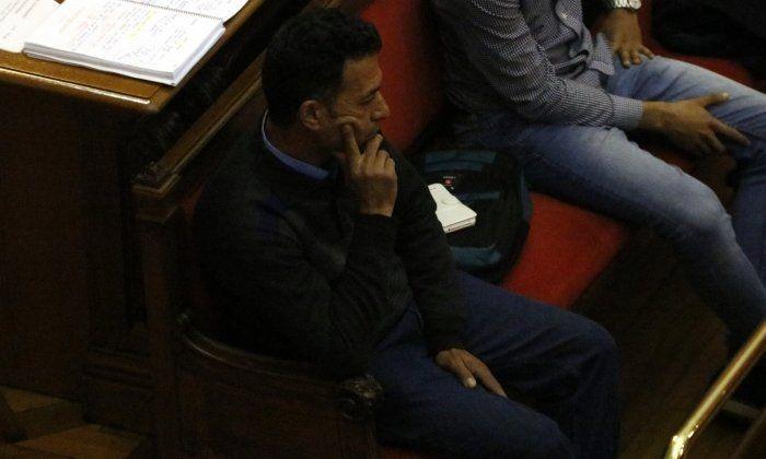 Mohamed T., exparella de Piedad Moya i acusat del seu assassinat, durant el judici. Foto: ACN