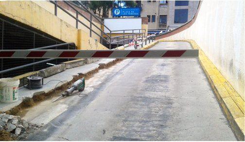 Estat de les obres. Foto: Ajuntament de Mataró