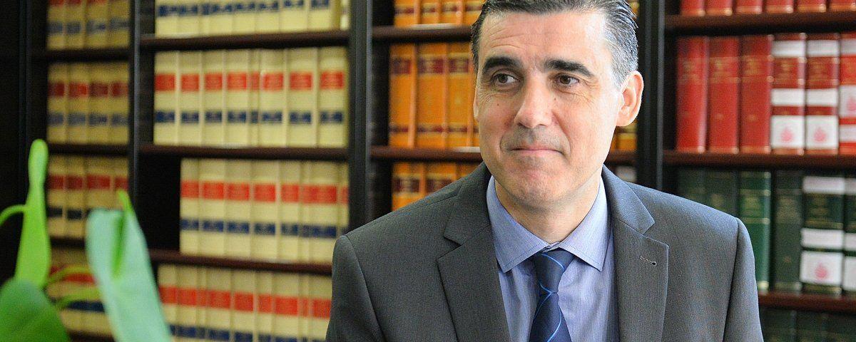 Julio Naveira, president del Col·legi d'Advodats de Mataró