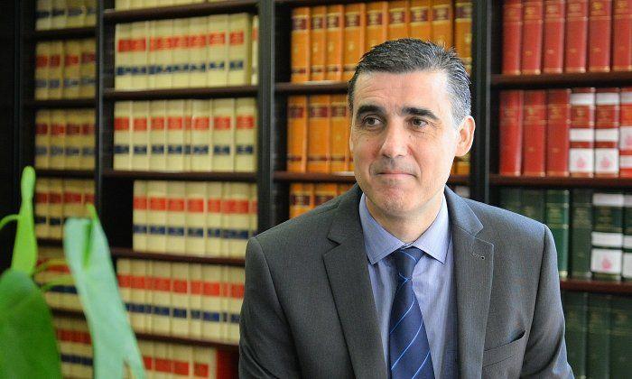 Julio Naveira, president del Col·legi d'Advocats. Foto: R. Gallofré